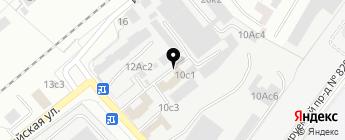 Астрал на карте Москвы