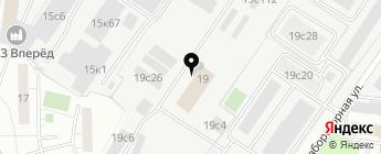 DlyAvto на карте Москвы