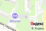 Схема проезда до компании EROSKLAD в Москве