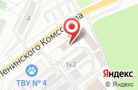 Схема проезда до компании Аспект в Видном