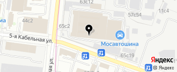 Баварец на карте Москвы