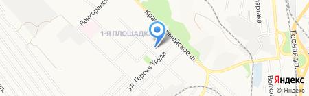 Сарепта-Медипласт на карте Донецка