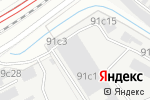 Схема проезда до компании Mercedes-key в Москве