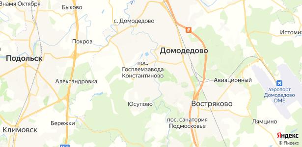Авдотьино на карте