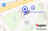 Схема проезда до компании ДК КОМПРЕССОР в Москве