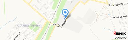 Кватон на карте Донецка