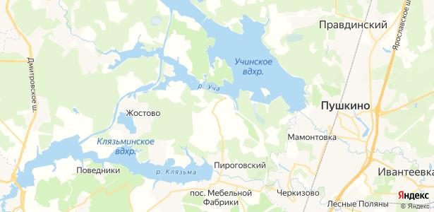 Манюхино на карте