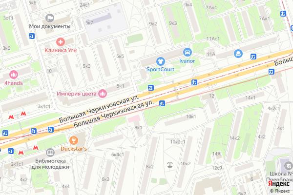Ремонт телевизоров Район Преображенское на яндекс карте