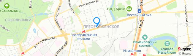 район Преображенское