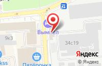Схема проезда до компании Промтехавиа в Москве