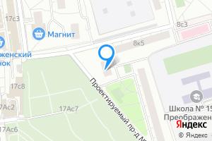 Двухкомнатная квартира в Москве м. Преображенская площадь, 2-я Пугачёвская улица, 8к6