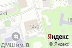 Схема проезда до компании Школьник в Москве