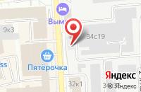 Схема проезда до компании Вагон Комплект в Москве