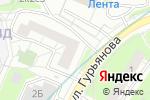 Схема проезда до компании Kakadu_nails в Москве