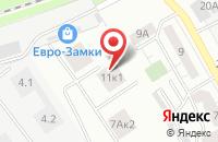Схема проезда до компании Аквасервис в Москве