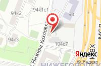 Схема проезда до компании Рвк в Москве