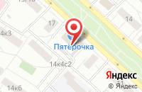 Схема проезда до компании ПрофиТорг в Москве