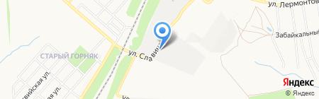 Азот на карте Донецка