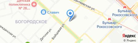 Factalex на карте Москвы