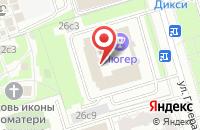 Схема проезда до компании Коралловый риф в Москве