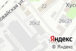 Схема проезда до компании Цэзар Групп в Москве
