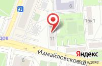 Схема проезда до компании Атрес в Москве