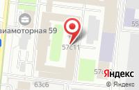 Схема проезда до компании Анзу в Москве