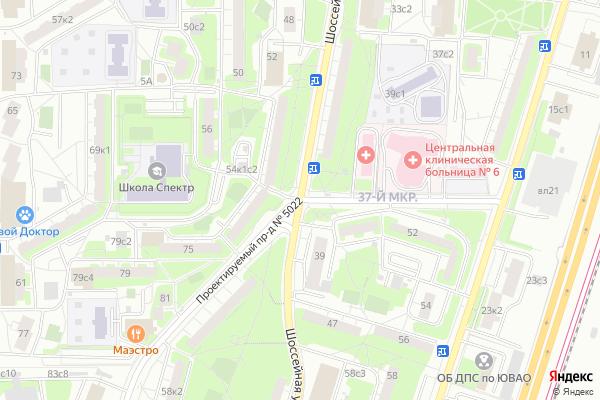 Ремонт телевизоров Улица Гурьянова на яндекс карте