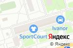 Схема проезда до компании Sportcort в Москве