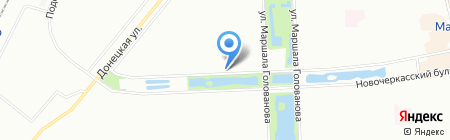 ОкнаКомильфо на карте Москвы