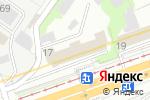 Схема проезда до компании Финансовый элемент в Москве