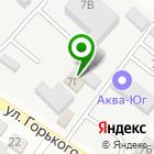 Местоположение компании СТО на Горького