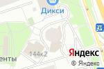 Схема проезда до компании Trust Garant в Москве