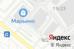 Схема проезда до компании Mskcofe в Москве