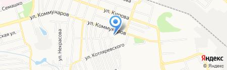 Дельфин на карте Донецка