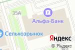 Схема проезда до компании Двери Гранит в Москве