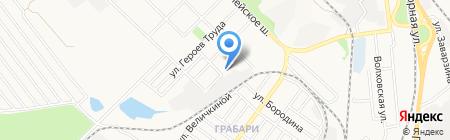 Факел ЧП на карте Донецка