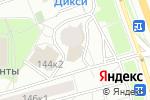 Схема проезда до компании Элитстрой в Москве