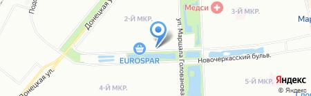 Карина на карте Москвы