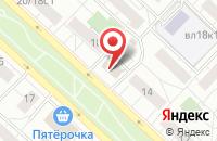 Схема проезда до компании Парфюмерный Фонд в Москве
