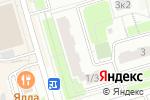 Схема проезда до компании Ореховый в Москве