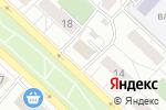 Схема проезда до компании Северное сияние в Москве