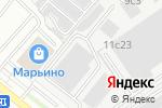 Схема проезда до компании Org Holod в Москве