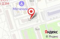 Схема проезда до компании Санрайз в Москве