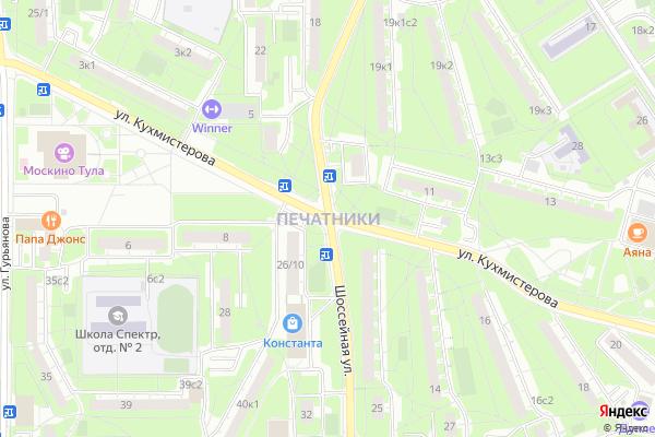 Ремонт телевизоров Район Печатники на яндекс карте