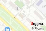 Схема проезда до компании Виолент в Москве