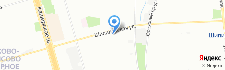 ИгроШкола на карте Москвы