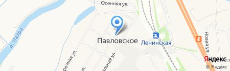 Православный Храм Святых Апостолов Петра и Павла на карте Белеутово