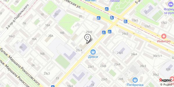 Бриз МГ. Схема проезда в Москве
