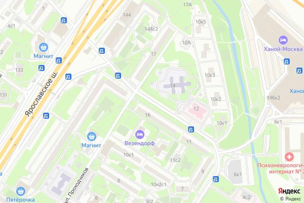 Ремонт телевизоров Улица Ротерта на яндекс карте